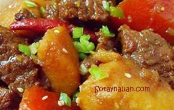 dạy nấu ăn ngon, Cách làm bò hầm Trung Hoa - Món ngon cuối tuần tại Sổ tay nấu ăn ngon