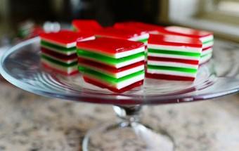 Nấu ăn món ngon mỗi ngày với Bột gelatin, Nau an ngon, hoc nau an, mon ngon thach rau cau 3 mau 112