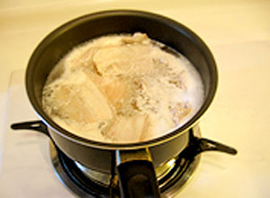 Cách nấu đậu sốt thịt Trung Hoa 2