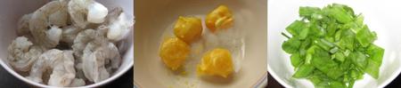 Cách làm tôm chiên trứng muối 1