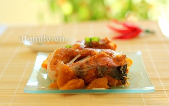 Nấu ăn món ngon mỗi ngày với Cá, Cá kho dứa đưa cơm ngày lạnh final