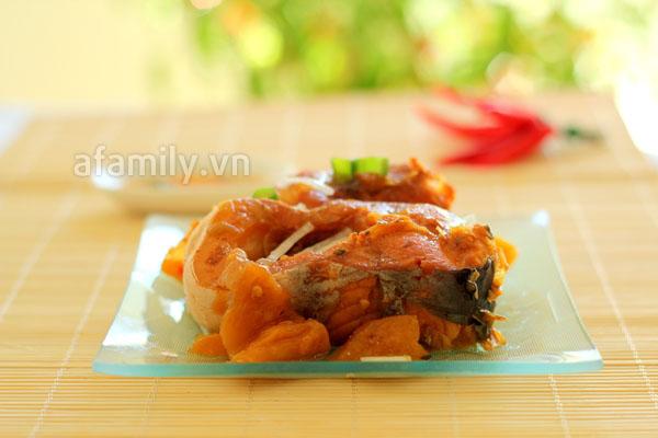 cá kho chuối, Cá kho dứa đưa cơm ngày lạnh final