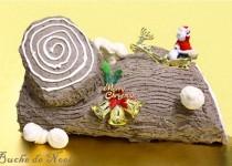 Bánh gốc cây đón Noel