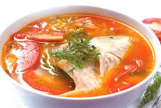 Nấu ăn món ngon mỗi ngày với ngổ, Nau an ngon, hoc nau an, mon ngon canh chua ca dieu hong