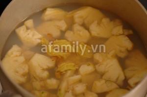 Cách nấu canh chua ngao 12