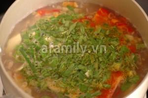 Cách nấu canh chua ngao 14