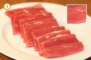 cách làm thịt bò khô 1