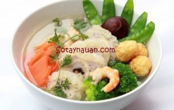 Nấu ăn món ngon mỗi ngày với Su hào, Nau an ngon, hoc nau an, mon ngon canh bong thap cam