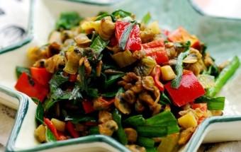 Nấu ăn món ngon mỗi ngày với Ớt chuông đỏ, Nau an ngon, hoc nau an, mon ngon hen xao he ket qua