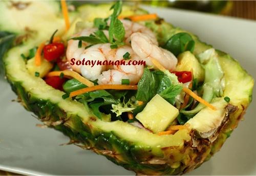 Salad Tom dua - So Tay Nau An - 7
