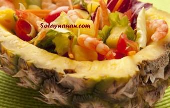 Nấu ăn món ngon mỗi ngày với Dầu olive, Nau an ngon, hoc nau an, cach lam mon ngon, cach lam salad tom dua ngon