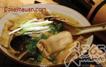 Nấu ăn món ngon mỗi ngày với Măng khô, Nau an ngon, hoc nau an, mon ngon canh mang mong gio