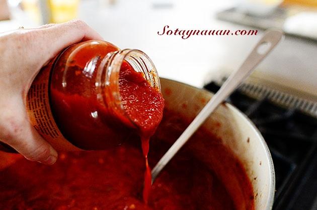 my spaghetty sot thit bo - Sotaynauan.com 24, my y sot thit bo ngon, nau an ngon, mon ngon, my spaghetty ngon
