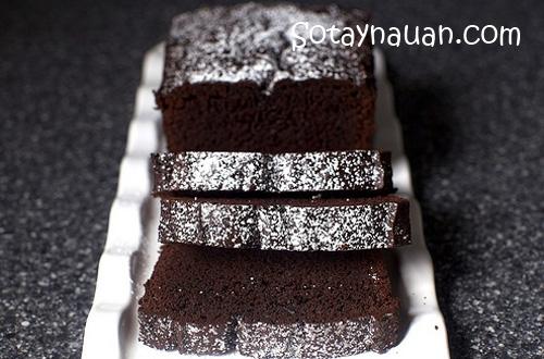 Cach lam banh chocolate, cach lam banh so co la, banh chocolate ngon, banh so co la ngon
