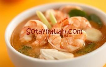 Nấu ăn món ngon mỗi ngày với Lá chanh, Nau an ngon, mon ngon, so tay nau an, bi kip nau an, canh tom chua cay, canh tom chua, canh nam