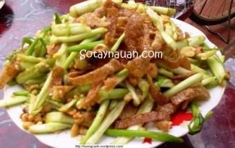 Nấu ăn món ngon mỗi ngày với Rau cần, Cach lam nom rau can, cach lam vo can, cach lam nom vo can, Cach lam vo can Huong Canh, Cach lam nom can