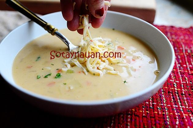 Cach nau sup khoai tay ngon, cach nau soup khoai tay ngon, mon ngon, nau an ngon, So Tay Nau An