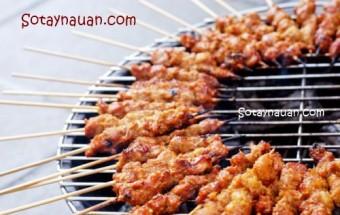 Nấu ăn món ngon mỗi ngày với Dầu hào, Nau an ngon, mon ngon, thit xien nuong, thit nuong, So Tay Nau An