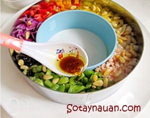salad ngon, salad rau cu ngon, rau cu tron ngon, nau an ngon, mon ngon, so tay nau an