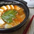 cách nấu canh ngao, canh kim chi, canh kim chi dau phu, cach nau canh kim chi ngon, cach nau canh kim chi dau phu ngon, mon ngon, nau an ngon, So Tay Nau An