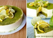 Cách làm bánh mousse trà xanh chanh mát lạnh chào hè