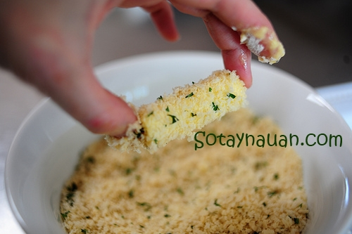 Cách làm phô mai que, Cheese stick 12