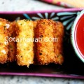tráng trứng, Cách làm phô mai que, Cheese stick 24