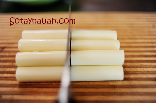 Cách làm phô mai que, Cheese stick 6