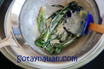 Cách làm kem trà xanh 6