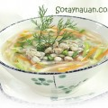 canh chay, cach lam canh hen nau bau ngon, cach nau canh hen ngon, so tay nau an ngon, huong dan nau an, cach nau canh ngon