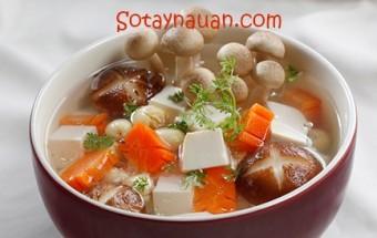 cách chế biến món ăn, Nau canh ngon, canh nam hat sen chay ngon, Huong dan nau an, So Tay Nau An,