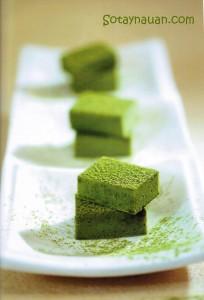 Cách làm chocolate truffle vị trà xanh 8