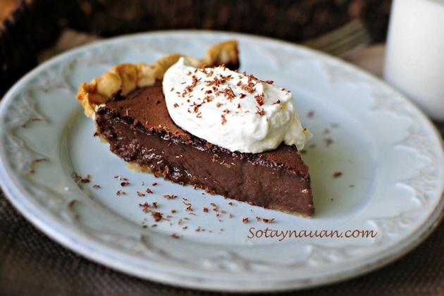 cách làm bánh chocolate 11