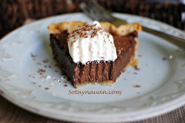 cách làm bánh chocolate 12