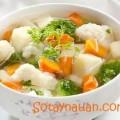 sup khoai tay ngon, Cách nấu canh rau củ thit nạc - Món ngon ngày hè 4
