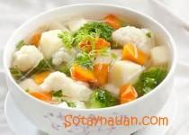 Cách nấu canh rau củ thịt nạc – món ăn ngọt mát cho ngày hè