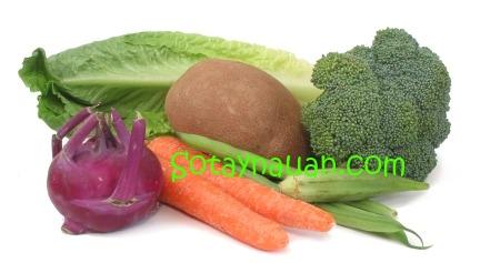Cách nấu canh rau củ thit nạc - Món ngon ngày hè 2