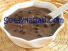Đồ ăn sáng, Cách nấu cháo đậu đen, món ngon cho bé 1
