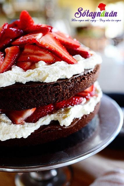 bánh sinh nhật chocolate dâu tây 29