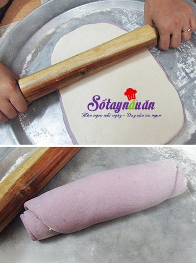Cách làm bánh bao khoai lang tím 8