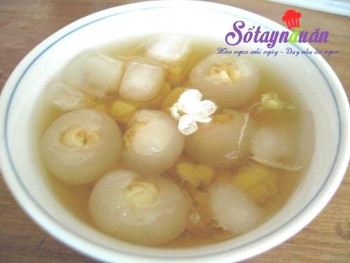 Cách nấu chè nhãn hạt sen (1)