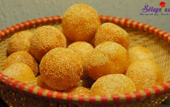 Nấu ăn món ngon mỗi ngày với Bột khoai tây, cách làm bánh rán ngọt