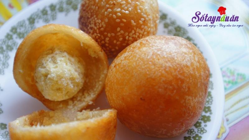 cách làm bánh rán lúc lắc ngọt