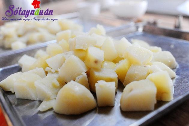 Cách làm khoai tây nướng, nướng khoai tây