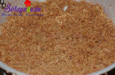 Cách làm ruốc nấm hương ngon