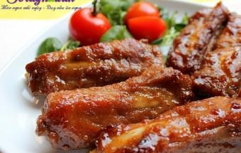 Nấu ăn món ngon mỗi ngày với Sườn, Cách làm sườn xào chua ngọt