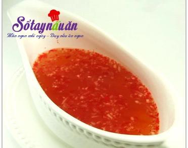 Cách làm sườn xào chua ngọt
