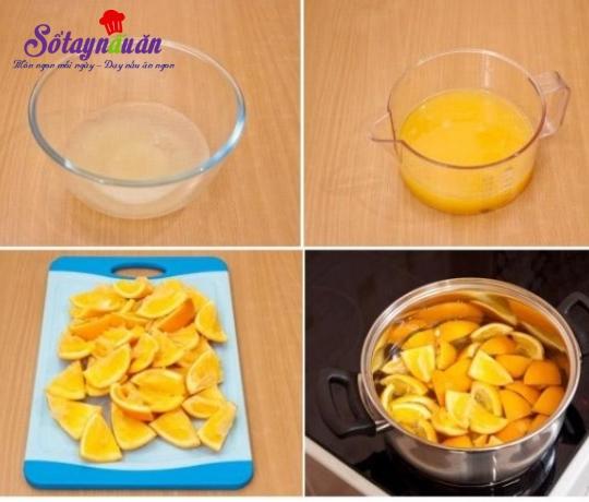 Cách làm thạch cam