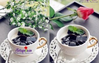 Pha chế đồ uống, Cách làm trà sữa sương sáo