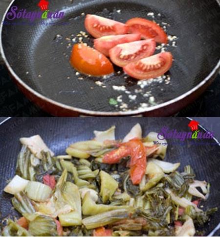 Cách nấu canh dưa thịt bò, canh dưa chua thịt bò